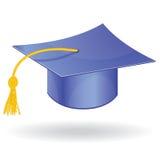 Chapeau d'obtention du diplôme  Photographie stock