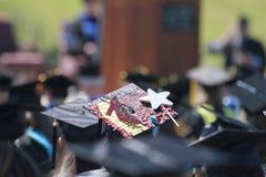 Chapeau d'obtention du diplôme, université de l'Etat du nord-ouest de l'Oklahoma Photos stock