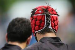Chapeau de bousculade de rugby Image libre de droits