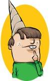 Chapeau de cancre illustration de vecteur
