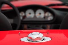 Chapeau de carburant photos libres de droits