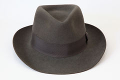 Chapeau de chapeau melon de feutre Borsalino Photos libres de droits