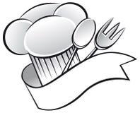 Chapeau de chef illustration stock