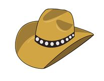 Chapeau de cowboy Photos libres de droits