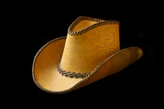 Chapeau de cowboy, d'isolement Photographie stock