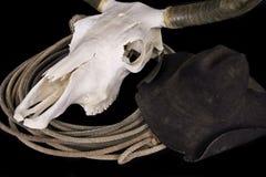 Chapeau de crâne Photo libre de droits