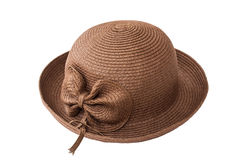 Chapeau de dame de mode Photos libres de droits