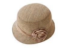 Chapeau de dame de mode Photos stock