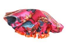 Chapeau de douche fleuri rose Image stock