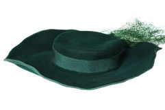 Chapeau de femme Image libre de droits