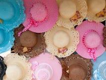 Chapeau de femme d'été Photographie stock