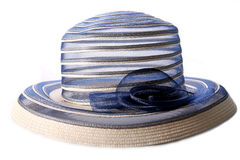 Chapeau de femme de cru Photographie stock