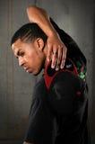 Chapeau de fixation d'homme de Hip Hop Photographie stock