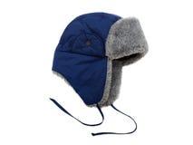 Chapeau de fourrure de l'hiver Photographie stock