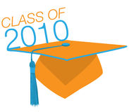 Chapeau de graduation Photos stock