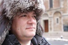 Chapeau de l'hiver Images libres de droits