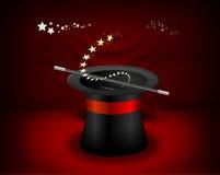Chapeau de magicien Images stock