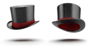 chapeau de magie de cylindre photographie stock