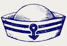 Chapeau de marin Images libres de droits