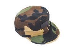 Chapeau de modèle de camouflage Image libre de droits