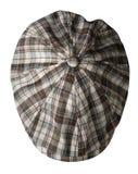 Chapeau de mode d'isolement sur le fond blanc chapeau coloré Photographie stock