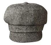 Chapeau de mode d'isolement sur le fond blanc chapeau coloré Image libre de droits