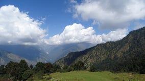 Chapeau de nuages Image libre de droits