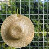 Chapeau de paille Images stock