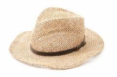Chapeau de paille Photo libre de droits