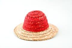 Chapeau de paille Photos libres de droits