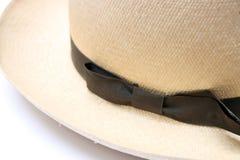 Chapeau de Panama de cru Photographie stock