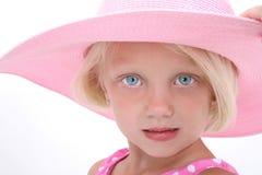 Chapeau de plage images libres de droits