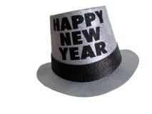 Chapeau de réception d'an neuf heureux Image stock
