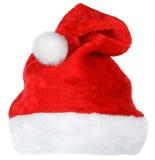 Chapeau de rouge de Santa Claus images libres de droits