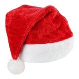 Chapeau de rouge de Santa Claus photographie stock libre de droits