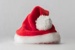 Chapeau de rouge de Santa Claus Photo libre de droits