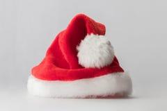 Chapeau de rouge de Santa Claus Image libre de droits