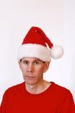 Chapeau de Santa Images libres de droits
