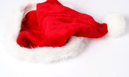 Chapeau de Santa Photo stock