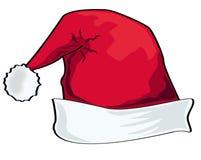 Chapeau de Santa Image libre de droits