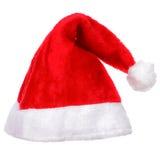 Chapeau de Santa de Noël Photographie stock libre de droits