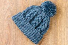 Chapeau de tricotage Photographie stock
