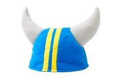 Chapeau de Viking, casque, d'isolement Photo libre de droits