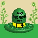 Chapeau du jour de Patrick de saint Image stock
