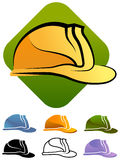 Chapeau dur de construction illustration stock