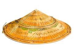 Chapeau en bambou Image libre de droits