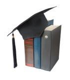 Chapeau et livres licenciés photographie stock