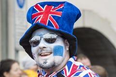 Chapeau et mascarade de la Grande-Bretagne Photos stock