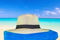 Chapeau et serviette Image stock