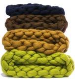 Chapeau, fourrure, chapeau de laine, laine mérinos, mérinos Images libres de droits